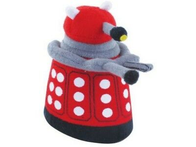 New Dr Doctor Who Dalek 3D Red Bath Flannel To Exterminate The Dirt Ages 3+