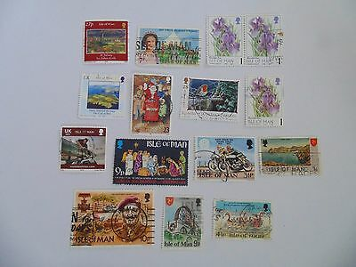 L1485 - Collection Of Isle Of Man Stamps