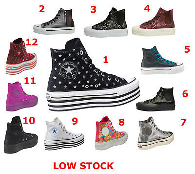Converse CT All Star Hi Platform DESCUENTO POR COMPRA COMBINADA ULTIMAS