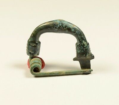 Superb Ancient Celtic Bronze La Tene Brooch / Fibula - Very Delicate