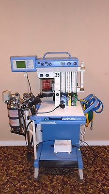 Drager Narkomed MRI-2 Anesthesia System Fully Functional with Power Supply
