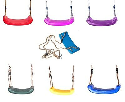 Children's Swing Seat With Height Adjustable Ropes! Choice Of Colours! Sold 500