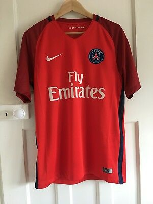 Nike Paris Saint-Germain Away Mens Short Sleeve Jersey