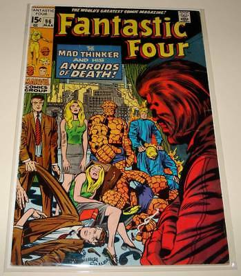 FANTASTIC FOUR # 96 Marvel Comic (Mar 1970)  VG   MAD THINKER