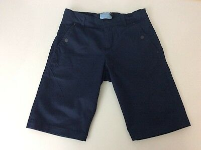 Lanvin Boys Smart Shorts, Size Age 8 Years, Navy Blue, Immaculate Condition