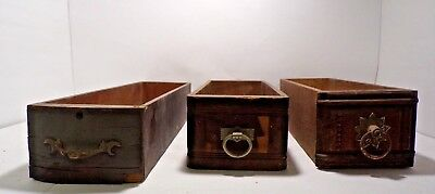 Wooden Drawers Antique Furniture