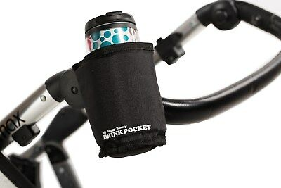 My Buggy Buddy Pushchair Stroller Insulated Cup Bottle Holder. Folds with Buggy