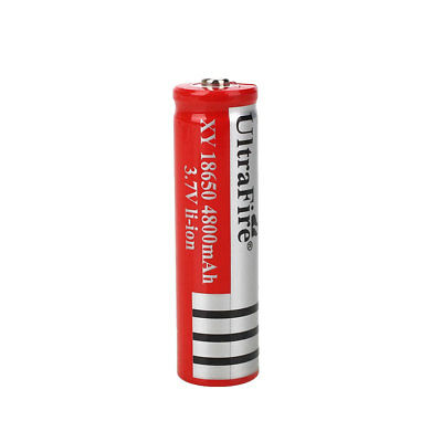 2/4/8 PCS 3.7V 18650 4900mAh Li-ion Rechargeable Battery For Flashlight Torch