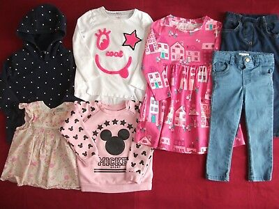 Girls Clothes Bundle - Age 2-3 Years