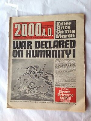 2000ad Prog 78 , 19 August 1978 , Banned Issue