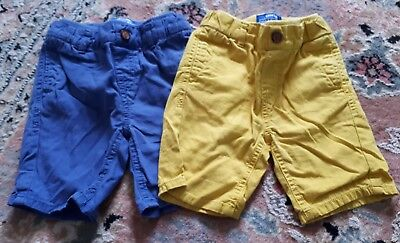 Mothercare Boys Shorts 9-12 months