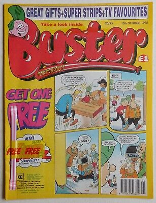 BUSTER COMIC - 13th October 1995