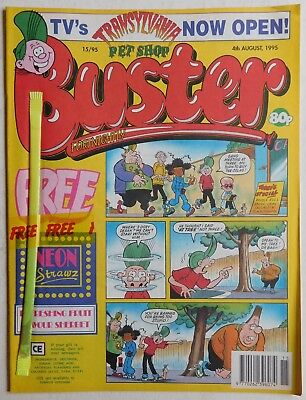 BUSTER COMIC - 4th August 1995