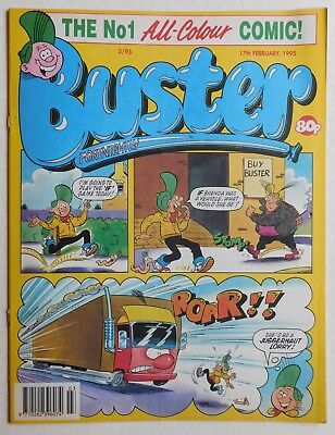 BUSTER COMIC - 17th February 1995