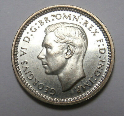 UK Great Britain ,George VI silver PROOF Maundy 2D twopence 1937 ; SPECIMEN; FDC