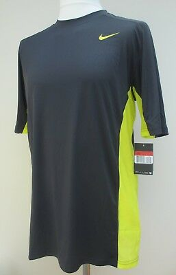 Mens Nike Dri-Fit T-Shirt Mesh Panels Gym Sports Running Training L XL XXL BNWT