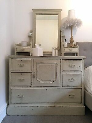 Large Victorian Chest Dresser Chiffonier Sideboard French Style Shabby Chic