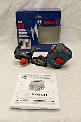 Bosch Gll Laser Level Cross Line With Box