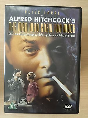 Alfred Hitchcock's THE MAN WHO KNEW TOO MUCH ~ 1934 British Original UK DVD