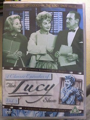 Lucille Bacall The Lucy Show Vol.3 ~ Clásico Americano Comedia GB DVD