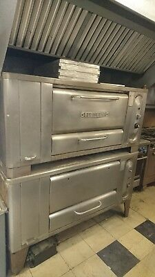 Blodgett Double 1000 Pizza Deck Oven
