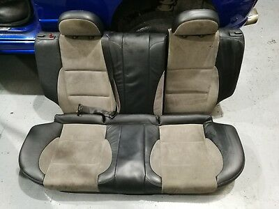 Fantastic Mg Zr Grey Black 1 2 Leather Rear Seats Rover 25 Car Man Machost Co Dining Chair Design Ideas Machostcouk