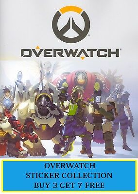 Just Toys OVERWATCH sticker collection, choose your stickers #145 - 288