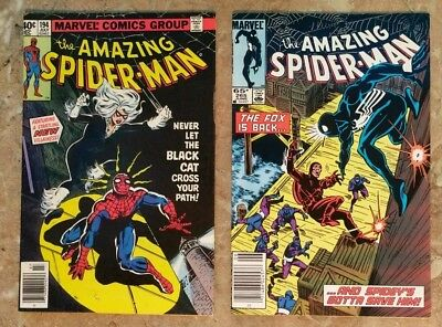 Amazing Spider-Man #194 (First appearance of Black Cat and First Silver Sable)