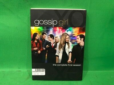 Gossip Girl - The Complete First Season (DVD, 2008, 5-Disc Set) (SS2021895)