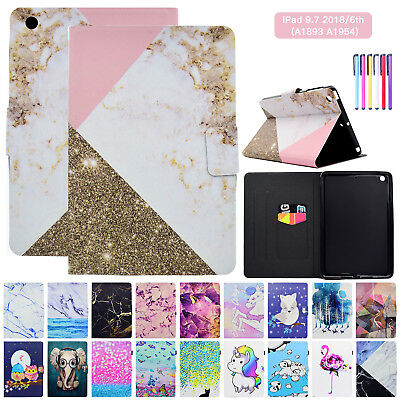 For iPad 9.7 2018 6th Generation Case Cover Auto Sleep/Wake Magnet Stand Leather