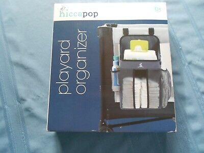 Hiccapop Playard Nursery Organizer and Diapers -Diaper Caddy Universal Fit NIB