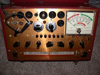 Hickok 800 Mutual Conductance Tube - Transistor Tester Excellent Working Meter