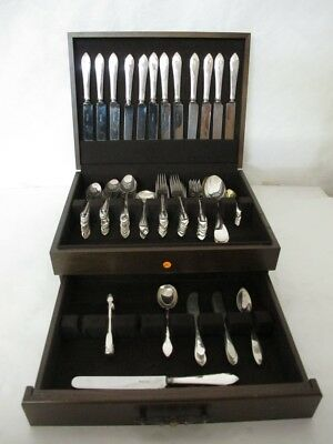 Spectacular Tiffany & Company Faneuil Sterling Silver Flatware Set With 100 Pcs