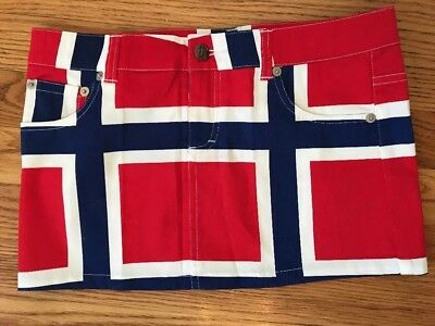 NEW Loud Mouth Kids Girls Golf Athletic Sporty Skirt Sz  7-8 NWT