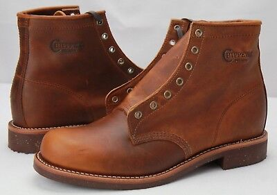"""Chippewa 1901M26 Men's 6"""" General Utility Service Boots Full Grain Leather 11 D"""