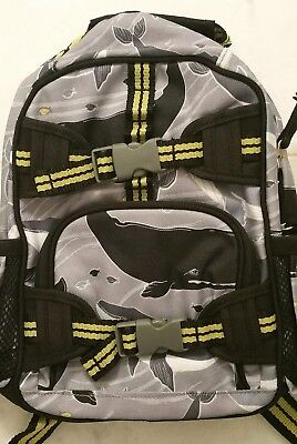 NWOT Pottery Barn Kids Small Backpack- Whales