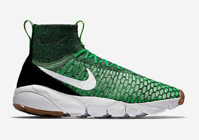 3e8adb6a3b5b NIKE AIR FOOTSCAPE MAGISTA FLYKNIT Sz 9.5 POISON GREEN(816560-300)vapormax  2.0