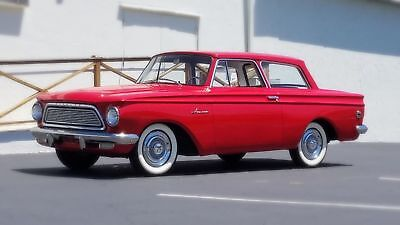1962 AMC Rambler American Free Shipping With Buy it Now  1962 RAMBLER 24,500 ORIG MILES DOCUMENTED HISTORY 6 CYL AUTO CAR DRIVES LIKE NEW