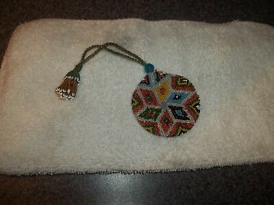 Vintage BEADED Coin, Watch Purse