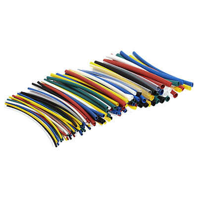 140x 2: 1 Heat Shrink Tubing Sleeving Wrap Electrical Wire Cable Kit M3V4