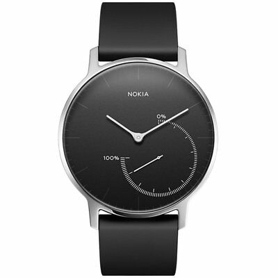 Nokia Activité Steel Activity & Sleep Tracker Zwart