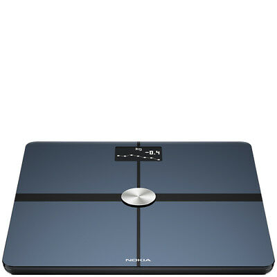 Nokia Body+ Full Body Composition WiFi Scale Zwart
