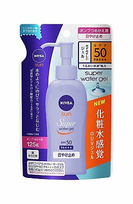 Niva Asan Protected Water Gel SPF 50 / PA +++ 125g for Refil Shipping from Japan