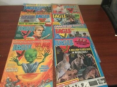 Eagle comics 14 from April,May,June and July 1982