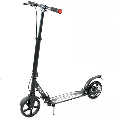 FORCA Big Wheel Scooter 200 mm Luxus Pro City Scooter mit Doppel Federung