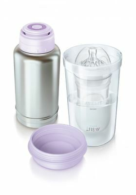Philips Avent 256 Thermo Flask Baby Bottle Warmer No Electricity Reqd