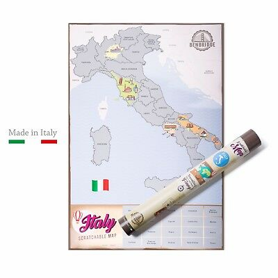 Scratch Map Italia | L'unica Mappa da Grattare Made in Italy |