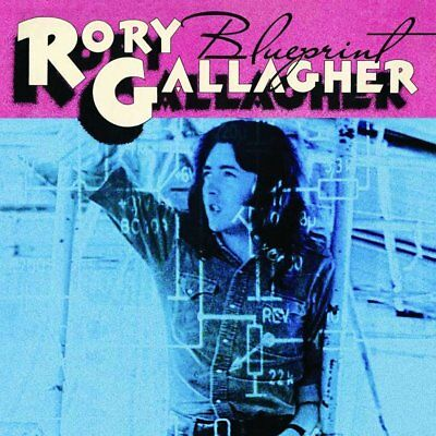 RORY GALLAGHER BLUEPRINT 2 Extra Tracks REMASTERED CD NEW