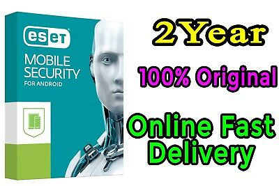 Eset Mobile Security 2018 for Android 2Year 3user License key Fast Delivery