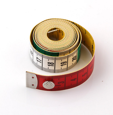 60 Inch/150cm Double Side Measuring Tapes Multi-color Sewing Rulers